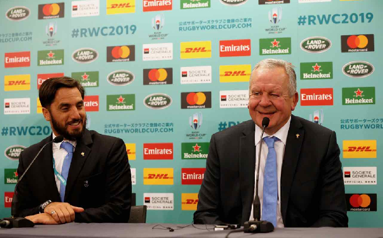 Sir Bill Beaumont beats Agustin Pichot and is re-elected chairman