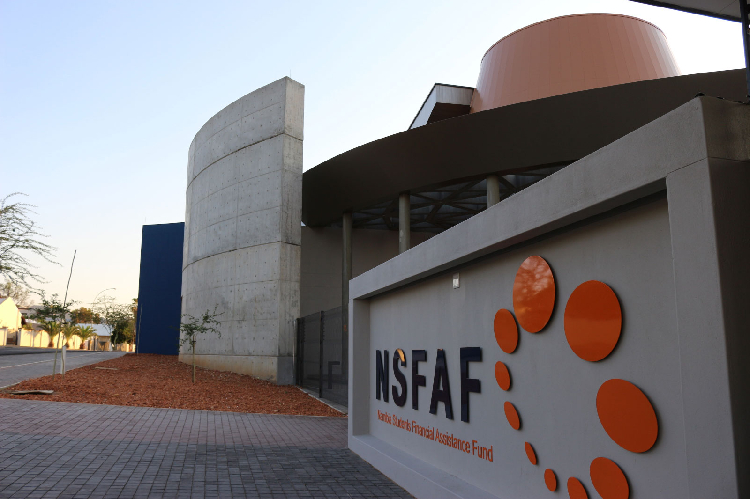 VALIDATION ... The Namibian Students Financial Assistance Fund headquarters in Windhoek. Photo: Namibiahub